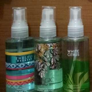 Parfum bbw travel size