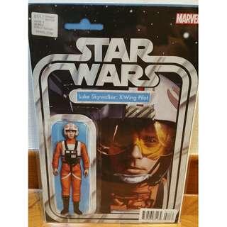 Star Wars #11 Christopher Action Figure Variant Luke Skywalker: X-Wing Pilot Marvel Comics