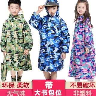Raincoat kid