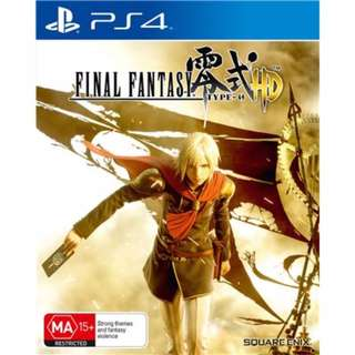 (Brand New Sealed) PS4 Game Final Fantasy Type 0 HD