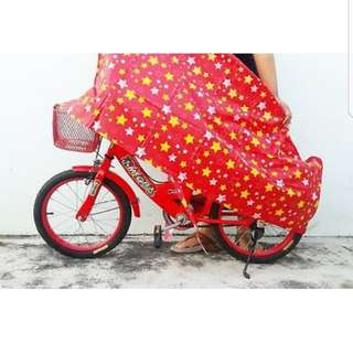 Rain Cover for kid bicycle