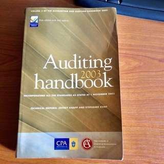 Book - AUSTRALIA AUDITING HANDBOOK  (K001)