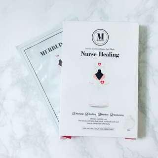 [INSTOCK] Merbliss Nurse Healing Mask