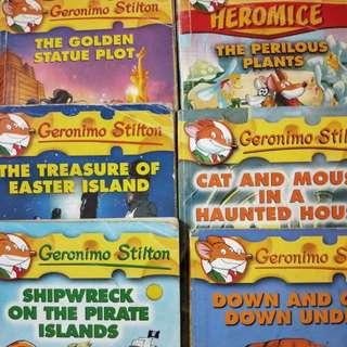 Geronimo Stilton any 3 for $10
