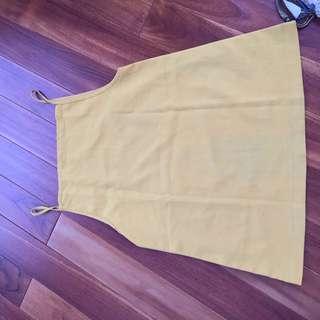 Yellow Mustard Tanktop