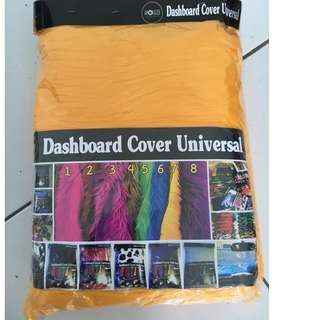 alas dashboard kuning / bulu dashboard kuning / cover dashboard kuning