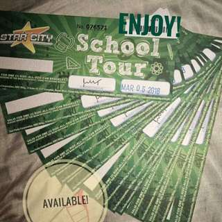 Star City promo Ticket