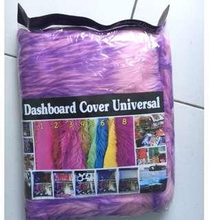 alas dashboard pink ungu / bulu dashboard ungu pink / cover dashboard ungu pink