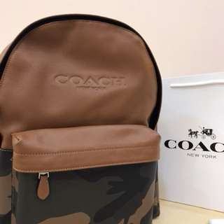 Original coach men backpack laptop bag