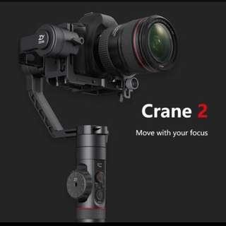 Zhiyun crane 2 gimbal (authorised)