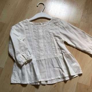 H&M Baby girl blouse