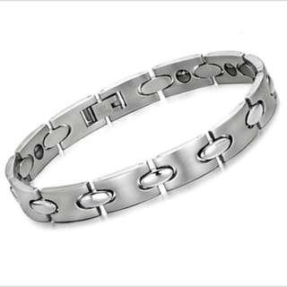 magnetic germanium negative ion bracelet