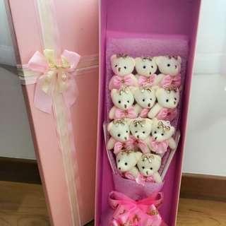 Bear Bouquet Vday Gift