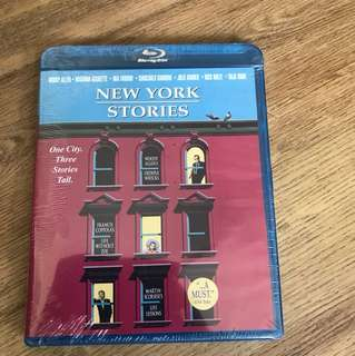 Blu ray New York stories by Woody Allen