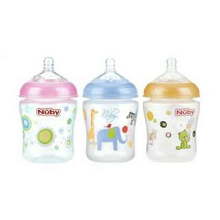 #BAJET20 NUBY Natural Touch 9oz/270ml Single Pack