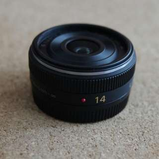 Panasonic 14mm F2.5 Lens For M43