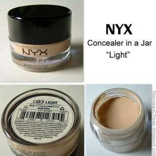 Nyx Concealer in Jar - Light