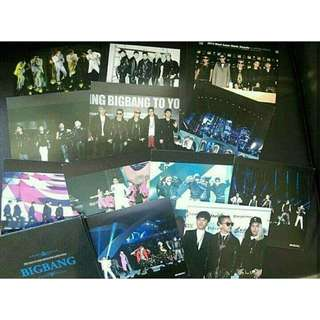 已絕版 BIGBANG postcard collection(12張)