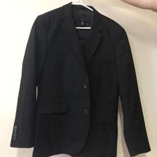 H&M Black Dinner Blazer