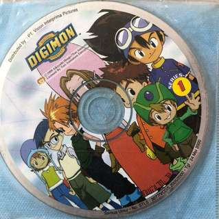 DIGIMON DVD Complete series (27 pcs of 📀)