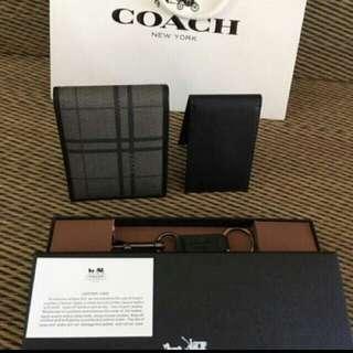 Coach Mens Wallet AUTHENTIC