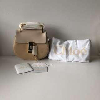 ⚡️New⚡️Chloe drew bag (mini size) Light Pink