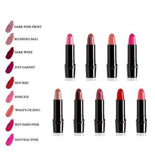 Wet n wild silk finish lipstick PREORDER