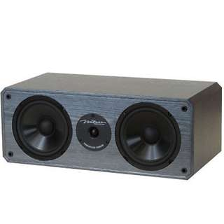 "BIC Venturi DV62CLR-S Dual 6-1/2"" 2-Way MTM Center Channel Speaker"