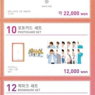 JBJ 1st Concert OFFICIAL Photocard MD