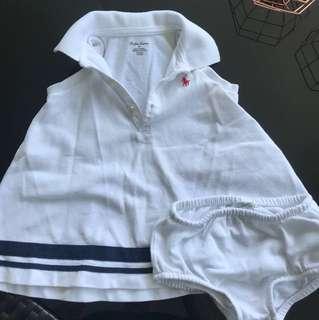Ralph Lauren baby girl polo dress