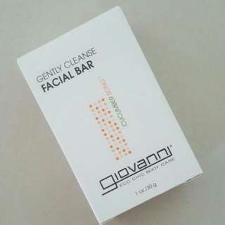 FREE NM📬Brand New In Box Giovanni Gently Cleanse Facial Bar Soap (Refreshing Cucumber)