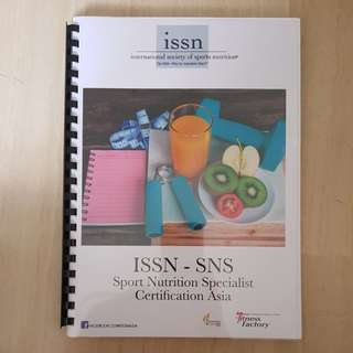 ISSN Sports Nutrition Specialist Manual