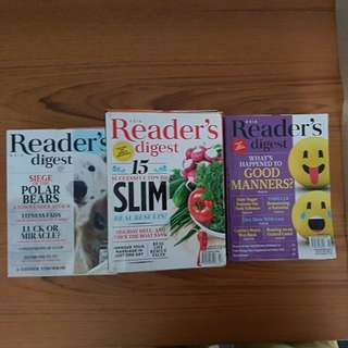 Readers Digest Set 2
