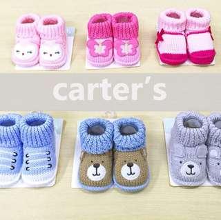 Baby knit shoe socks