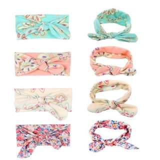 Mix 3 for $8 baby headbands
