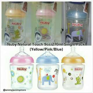 Nuby Natural Touch 9oz (Single Pack)