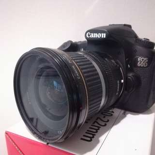 Canon 60D with 10-22mm lens