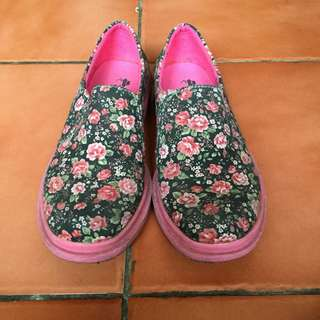 Dr Kevin Floral Sneakers