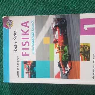 Buku Fisika Erlangga Kelas X (Marthen Kanginan) Kurikulum 2013