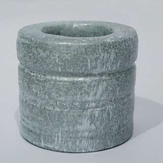 Natural Handcrafted Round Vase (Cement)