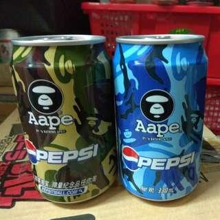 百事可樂xAape Pepsi 特別版330ml