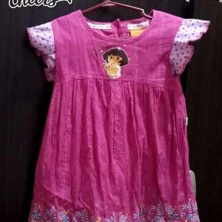 nickelodian pink dress