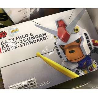 Gundam x Baby Milo