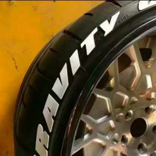 Tire Tyres stickers word letters Tyre
