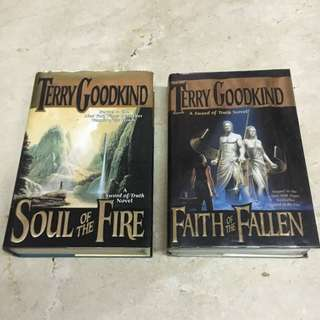 For Auction: Sword of Truth Series Books - Terry Goodkind (read description for auction mechanics)