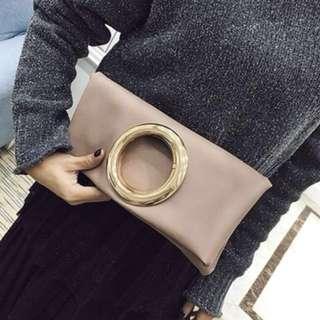 Blush Pink Clutch/Handbag/Bag