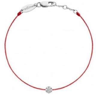 Redline Paris 情人節 0.05石 紅色幸運手線