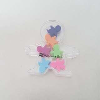 Fridge magnet Paper clips