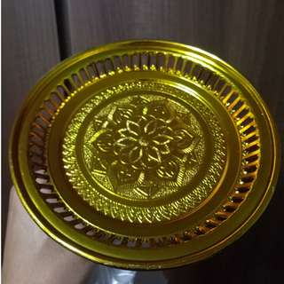 Golden Altar Tray Plate (2 for $6)