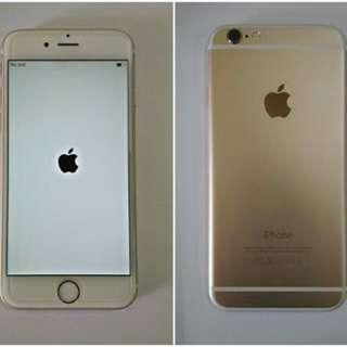 Fs iphone 6 16gb warna gold
